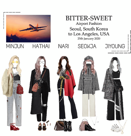 BITTER-SWEET [비터스윗] Airport Fashion 200125