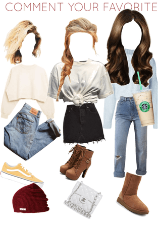 Fun interactive outfits (I've been trying new things on shoplook and loving it not part of postmas just fun)