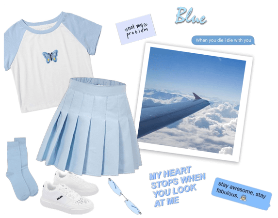 Sky Blue Outfit