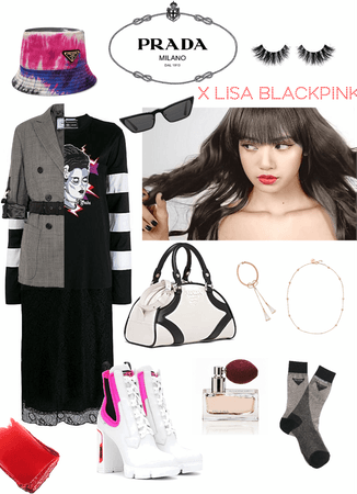 PRADA x Blackpink Lisa