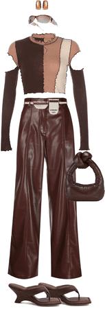 Brown Monochrome Fit