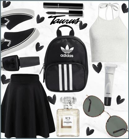 Taurus black and white