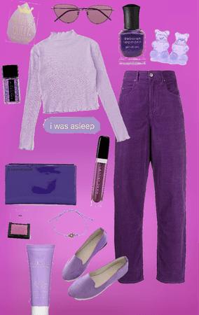rainbow series - purple