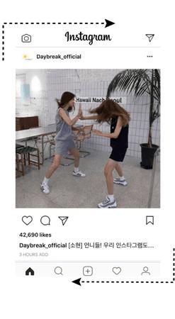 [Daybreak] Instagram Post #1 <So-Hyun>