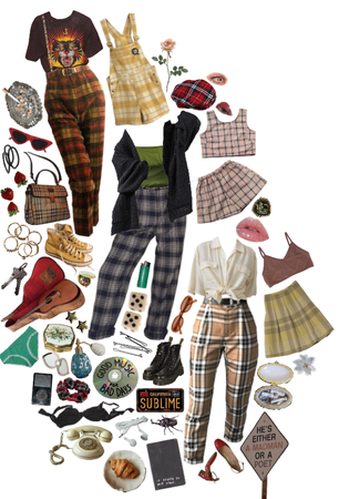 Plaid, Plaid, and More Plaid