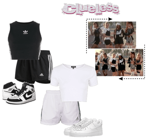 Clueless-Inspired Gym Uniforms