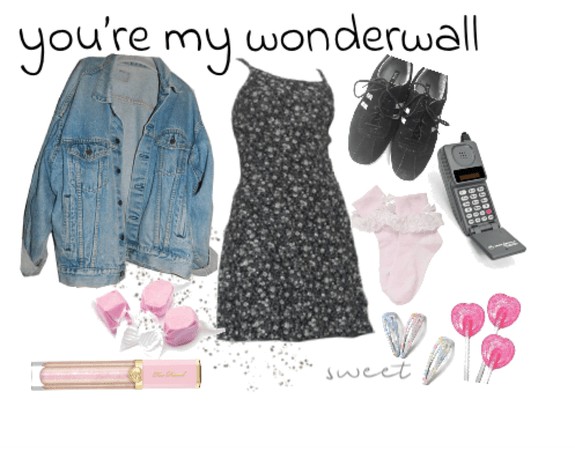 90s Girl Retro Outfit