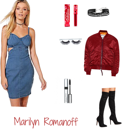 Marilyn Romanoff- Outfit 1