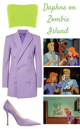 Daphne on Zombie Island