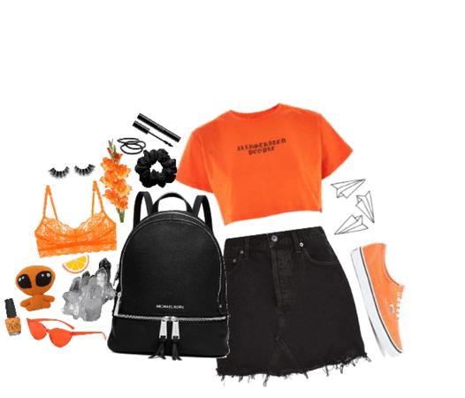 Sagittarius: orange&black