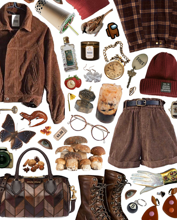 brown aesthetic