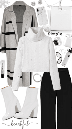 White monochrome