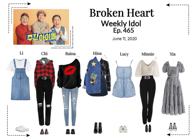 Broken Heart Weekly Idol