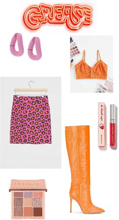 pink and orange 🍊💕🍊💕