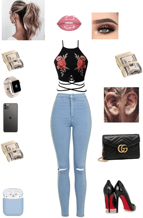 Spoiled Rich Girl Outfit