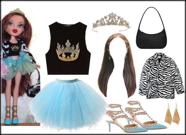 Roxxi Bratz Character Outfit 👑