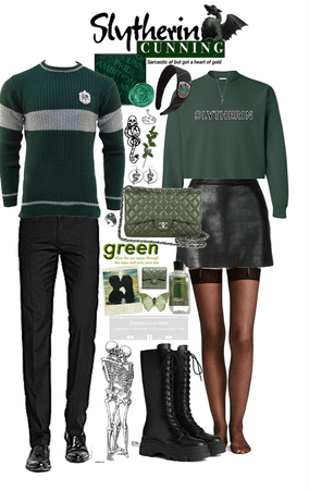 💚 Slytherin House Couple 💚