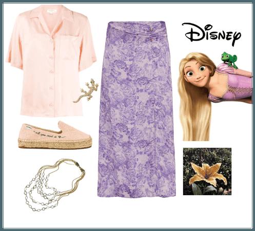 Rapunzel: Disney Bound