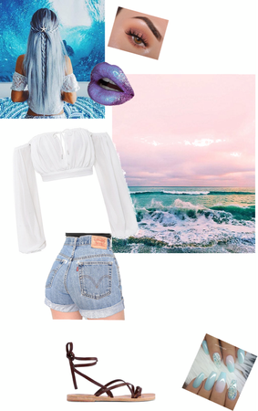 aesthetic Outfit #3 mermaid inspired