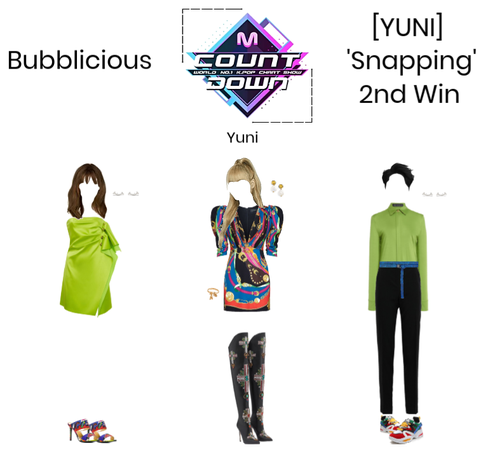 Bubblicious (신기한) [YUNI] 'Snapping' 2nd Win