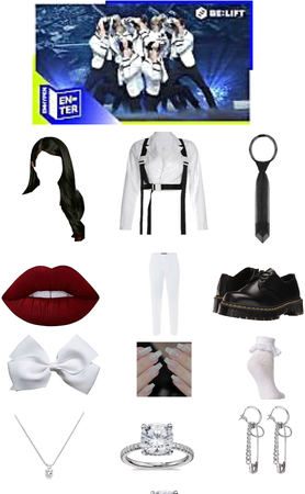 Enhypen Flicker Stage Outfit