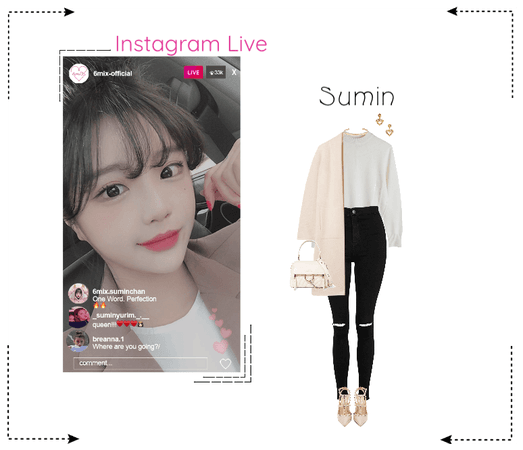 《6mix》Instagram Live - Sumin