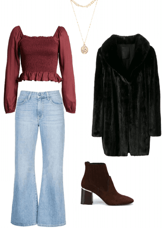 Basic and fashion outfit