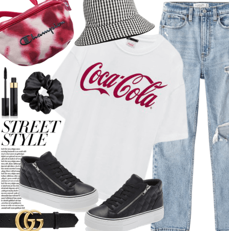 Spring Street Style: Red, Black, White