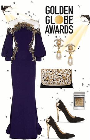 Ravishingly Elegant - Red Carpet Style: Golden Globe Awards