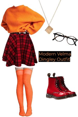 Modern Velma Dingley  Outfit