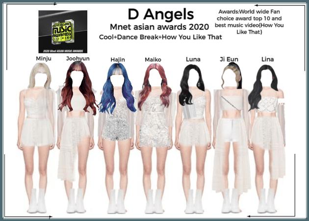 D Angels Melon Music Awards 2020