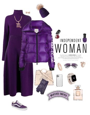 Purple sunday