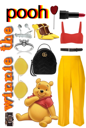 winnie the pooh inspired look