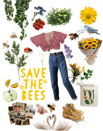 SAVE THE BEES 🐝🌻
