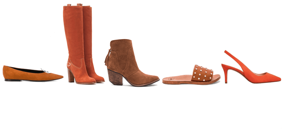 Shoes to wear if you're a redhead