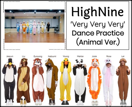 "HighNine (하이 나인) ""Very Very Very"" Dance Practice"