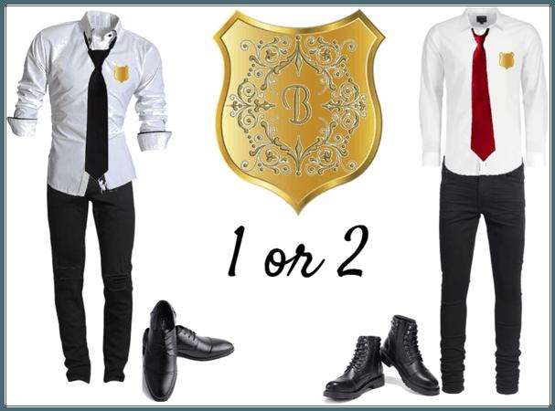 Charmed (my version) Burnville High School uniform