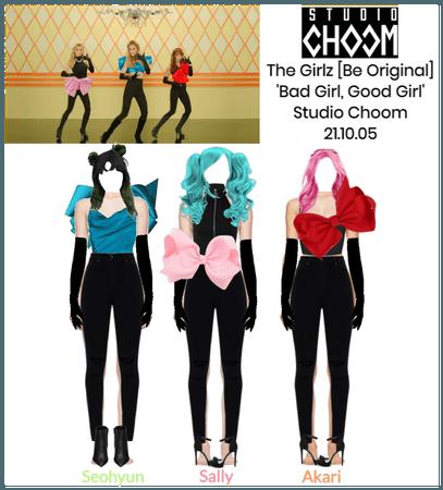 The Girlz 'Bad Girl, Good Girl' Studio Choom