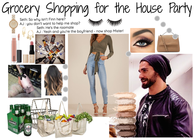 WWE : Grocery Shopping with Seth