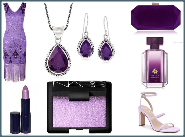 Luxury In Purple