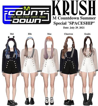"KRUSH M COUNTDOWN Special Stage ""SPACESHIP"""