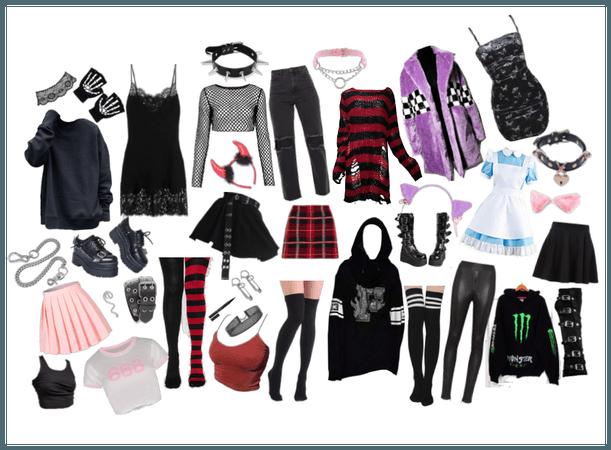 my weird wardrobe