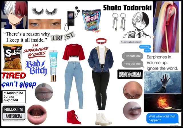 fem! Shoto Todoroki