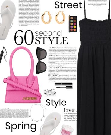 spring street style-black 🖤