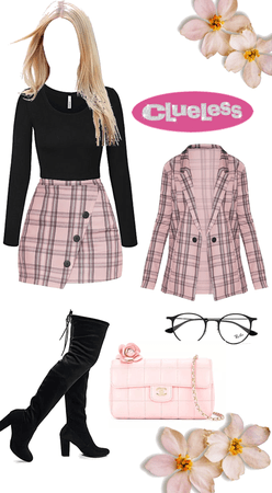 clueless in pink