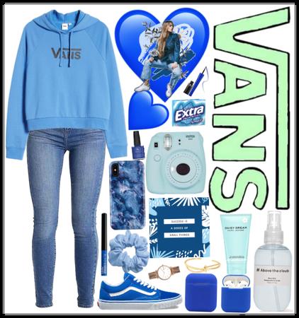 Blue Van Outfit💙💙💙💙