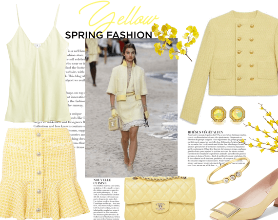 Yellow takes over Spring