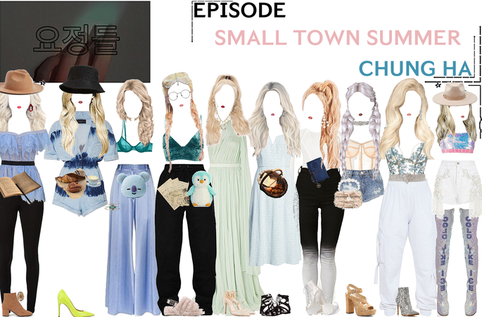 FAIRYTALE EPISODE 4: SMALL TOWN SUMMER | CHUNG HA SCENES
