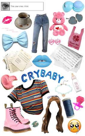 crybaby as a modern teen