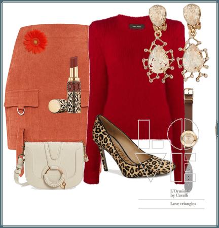 Clothes for warm autumn skin tone